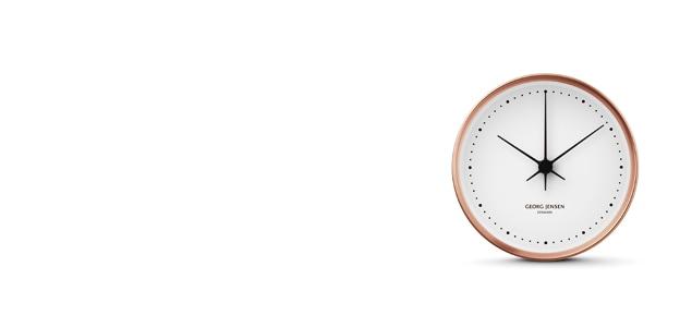 Georg Jensen ジョージ ジェンセン/HK CLOCK COPPER/WHITE Φ20cm