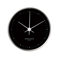 Georg Jensen ジョージ ジェンセン/HK ハイグロメーター(湿度計) BLACK/STEEL Φ10cm