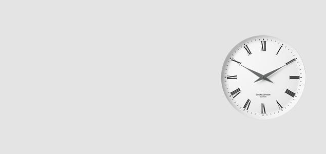 GEORG JENSEN ジョージジェンセン KOPPEL ウォールクロック メラミン [ デザイナーズ ウォールクロック:ヘニング・コッペル ]