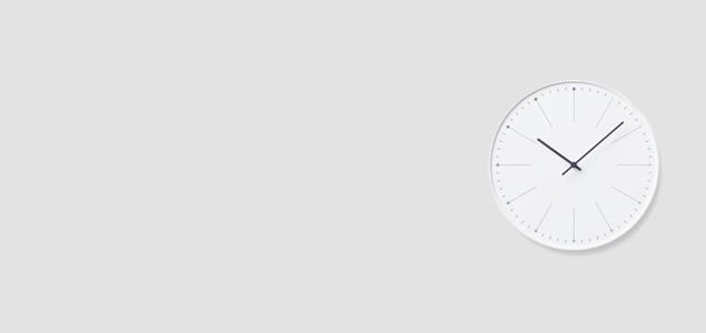lemnos(レムノス)のデザイナーズ ウォールクロック、nendo/dandelion