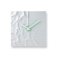 lemnos(レムノス)のデザイナーズ ウォールクロック、小松誠/CRINKLE