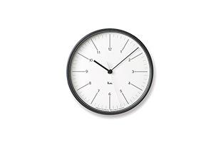 RIKI STEEL CLOCK_WR17-10 ホワイト