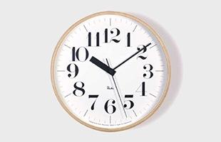 riki clock(リキクロック)電波時計 太字L