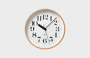 riki clock(リキクロック)電波時計 細字M