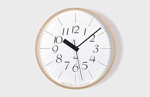 riki clock(リキクロック)電波時計 細字L