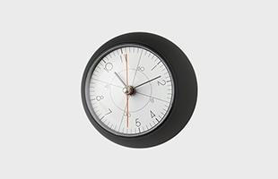 五十嵐威暢 earth clock less アースクロック テーブルクロック TIL19-09BK