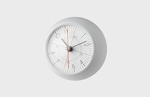 五十嵐威暢 earth clock less アースクロック テーブルクロック TIL19-09WH