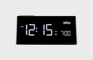 BRAUN ブラウン 置き時計 BNC016BK