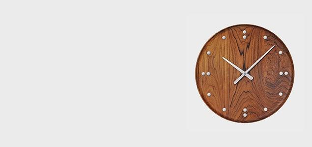 デンマークデザインの傑作、世界初の製品化「Finn Juhl / Wall Clock」