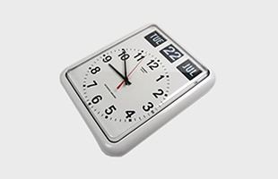 TWEMCO社 置時計 アラーム時計 BQ-12A ホワイト