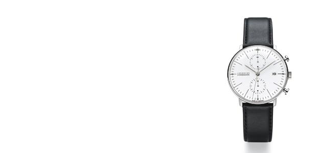 ユンハンス クロノスコープ/マックスビル(junghans max bill)腕時計(自動巻き)[おしゃれ腕時計はユンハンス クロノスコープ/マックスビル max bill]