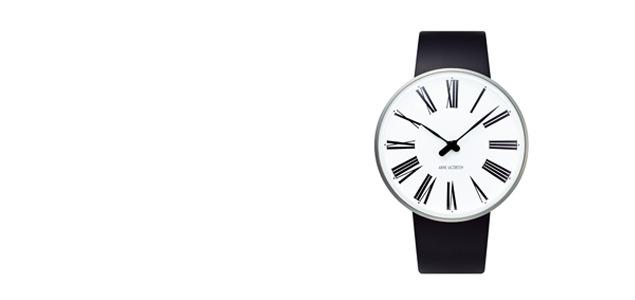 アルネ ヤコブセン 腕時計 ROMAN ローマン 53302-2001 ROW40