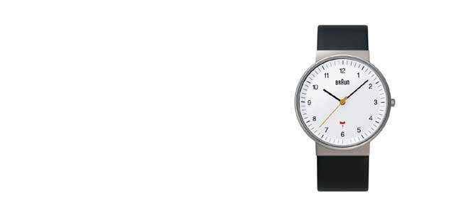 braun/ブラウン/腕時計/bnh0032 ホワイト×バンドメッシュ [腕時計はbraun ブラウンbnh0032