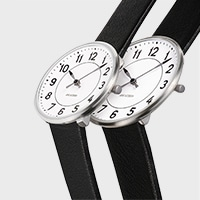 アルネ ヤコブセン/腕時計/STATION ステーションφ34 / アルネ ヤコブセン/腕時計/STATION ステーションφ40   比較イメージ