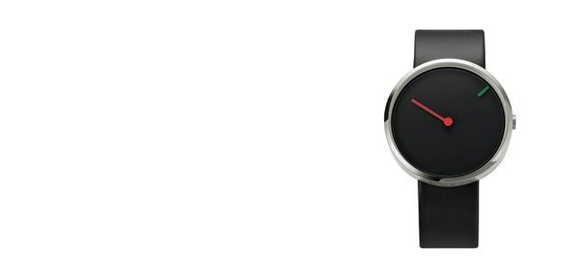 Jacob Jensen ヤコブ イェンセン|腕時計/Curve/シルバー×ブラック