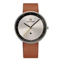 Jacob Jensen ヤコブ イェンセン|腕時計/Strata/シルバー×ブラック