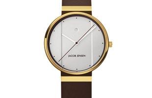 Jacob Jensen ヤコブ イェンセン|腕時計/New/ゴールド×ホワイト35mm