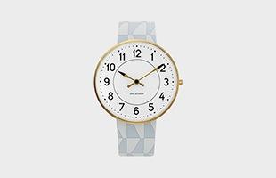 アルネ ヤコブセン 腕時計 STATIONφ40 53414-limited テキスタイルバンド イメージ
