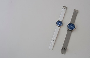sapporo star watch 札幌駅 星の大時計は文字盤30mm、37mm。革バンドとメッシュバンドのご用意が御座います