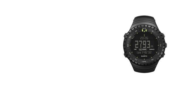 北欧 フィンランド/SUUNTO スント/CORE(コア) CLASSIC/レギュラーブラック [ランニング・アウトドア・登山用腕時計は北欧 SUUNTO スント/アウトドア・登山用腕時計 CORE(コア)]