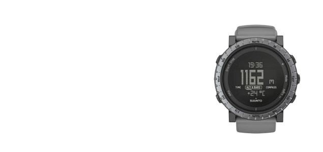 北 欧フィンランド/SUUNTO スント/CORE(コア) ダスクグレイ [ランニング・アウトドア・登山用腕時計は北欧 SUUNTO スント/アウトドア・登山用腕時計 CORE(コア)]