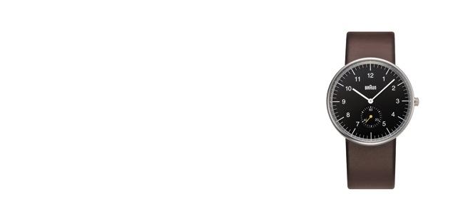 BRAUN ブラウン/腕時計/革ベルト/BN0024 BKBRG [ BRAUNの革ベルト腕時計は/BN0024 ]