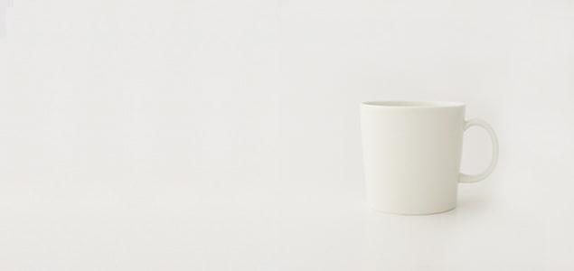 イッタラ/teema/マグカップ 300ml ホワイト単品