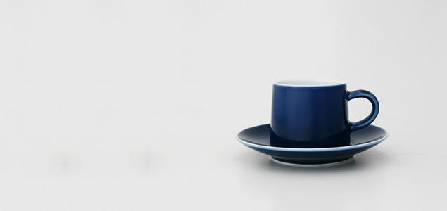 白山陶器 森正洋/M型シリーズ/カップ&ソーサー [森正洋 M型カップ&ソーサーは白山陶器]
