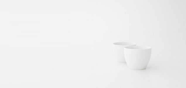 白山陶器/湯のみ猪口