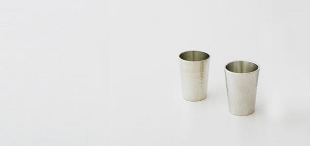 大阪錫器/カップツチメ 2個セット
