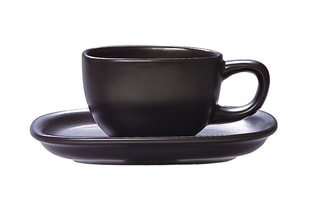 柳宗理/セラミック/カップ&ソーサー/ペアセット コーヒーカップ&ソーサー/ 白