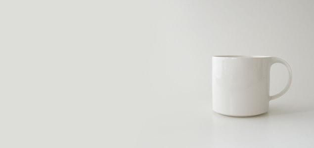 セラミックジャパン / Moderato モデラート/マグカップ/ホワイト<br>