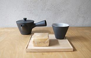 1人用としても丁度良いサイズの急須は、使い勝手が良く、気軽にお茶を楽しむことが出来ます