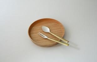 FUTAGAMI フタガミ/鋳肌カトラリー/ナイフ [真鍮製カトラリー(スプーン・フォーク・ナイフ)はフタガミ/スプーン・フォーク・ナイフはおしゃれなゴールドカラー]