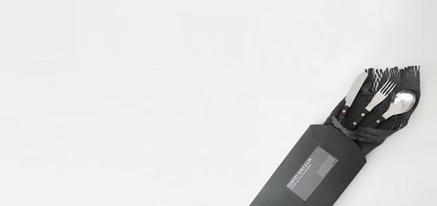 美しい古道具のような佇まい イギリスを代表するデザイナー David Mellor(デビッド・メラー)カトラリー3pcs ギフトBOXセット