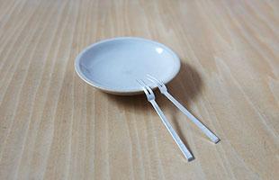東屋 / 真鍮の姫フォーク / 銀メッキ / 果物やおつまみに