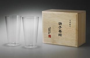 松徳硝子/薄いうすはりグラス/ ビール タンブラー M [うすはりグラス/ピルスナー,ビールグラスは松徳硝子]