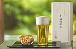 松徳硝子/薄いうすはりグラス/ ビール タンブラー M2個セット 木箱入 [うすはりグラス/ピルスナー,ビールグラスは松徳硝子]