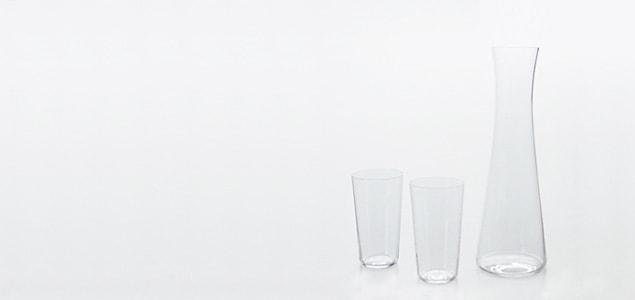 松徳硝子/薄いうすはりグラス/酒器揃 酒注ぎのみ[うすはりグラス/酒器揃は松徳硝子]