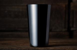松徳硝子/BLACK/タンブラー [松徳硝子−BLACKシリーズ/松徳硝子のタンブラー/お歳暮にウィスキー&ウィスキーグラス]