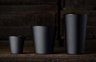 松徳硝子/BLACK マット/ロックグラス [松徳硝子−BLACKシリーズ/松徳硝子のロックグラス/お歳暮にウィスキー&ウィスキーグラス]