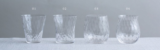松徳硝子/SHUKI/酒器お猪口/おちょこ/ぐい呑み Choko02 [松徳硝子(ガラス)製日本酒器/ガラス製お猪口(おちょこ)・日本酒器]