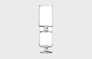 HOLMEGAARD STUB Glass 380ml 2pcsはスタッキングできることから置き場所に困りません