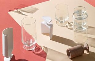 STUBシリーズのシンプルなフォルムはテーブルウェアにも組み合わせやすく、ワイン、ビール、ソフトドリンクなど、ジャンルや世代を問わずに使用できます