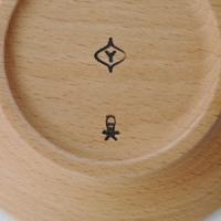 柳宗理/ウッドプレートΦ10cm