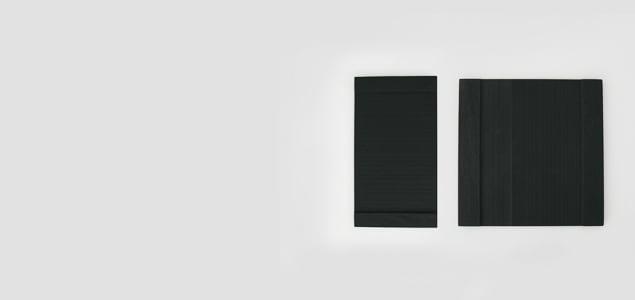 宮城 雄勝石/SUZURI 硯石プレート/角皿 正方皿 [北欧風 おしゃれ 硯石プレート/角皿 正方皿/北欧は雄勝石]