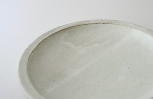 陶房金沢/粉引 6寸皿