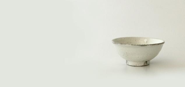 陶房金沢/粉引 飯椀