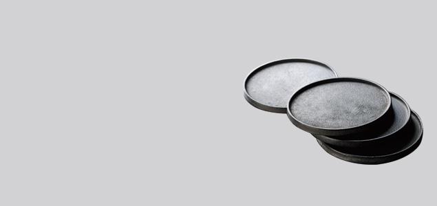 黒川雅之 IRONY/プレート PLATE ROUND 4枚セット
