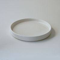moderato モデラート/プレート(丸型)/ホワイト/Mφ195mm